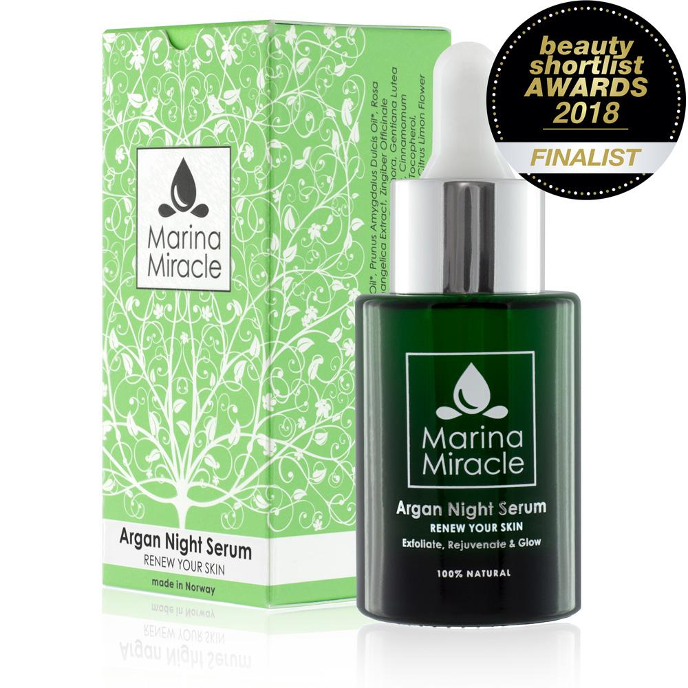 The Beauty Shortlist 2018 Finalist - Argan Night Serum
