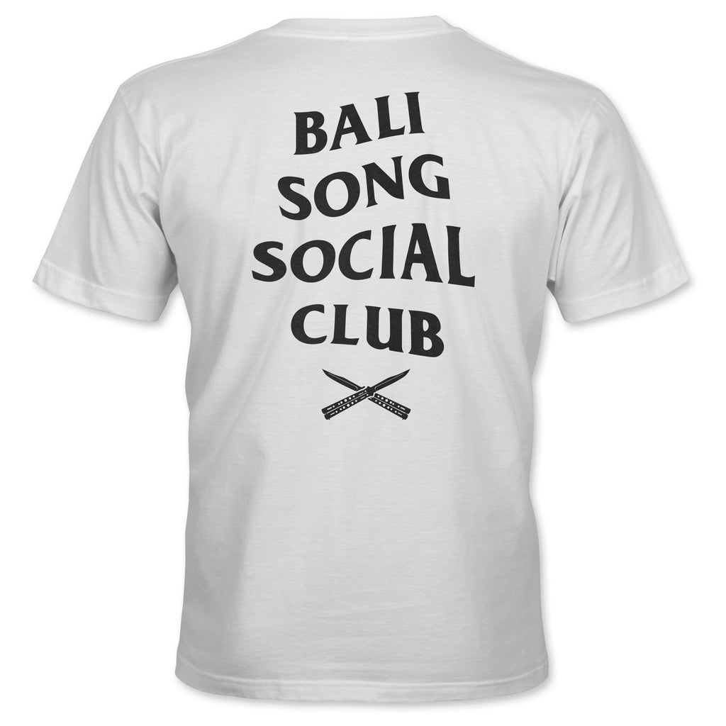 Balisong Social Club T-shirt - White