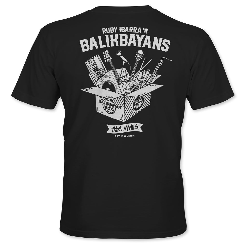 Ruby Ibarra and The Balikbayans T-shirt - Black