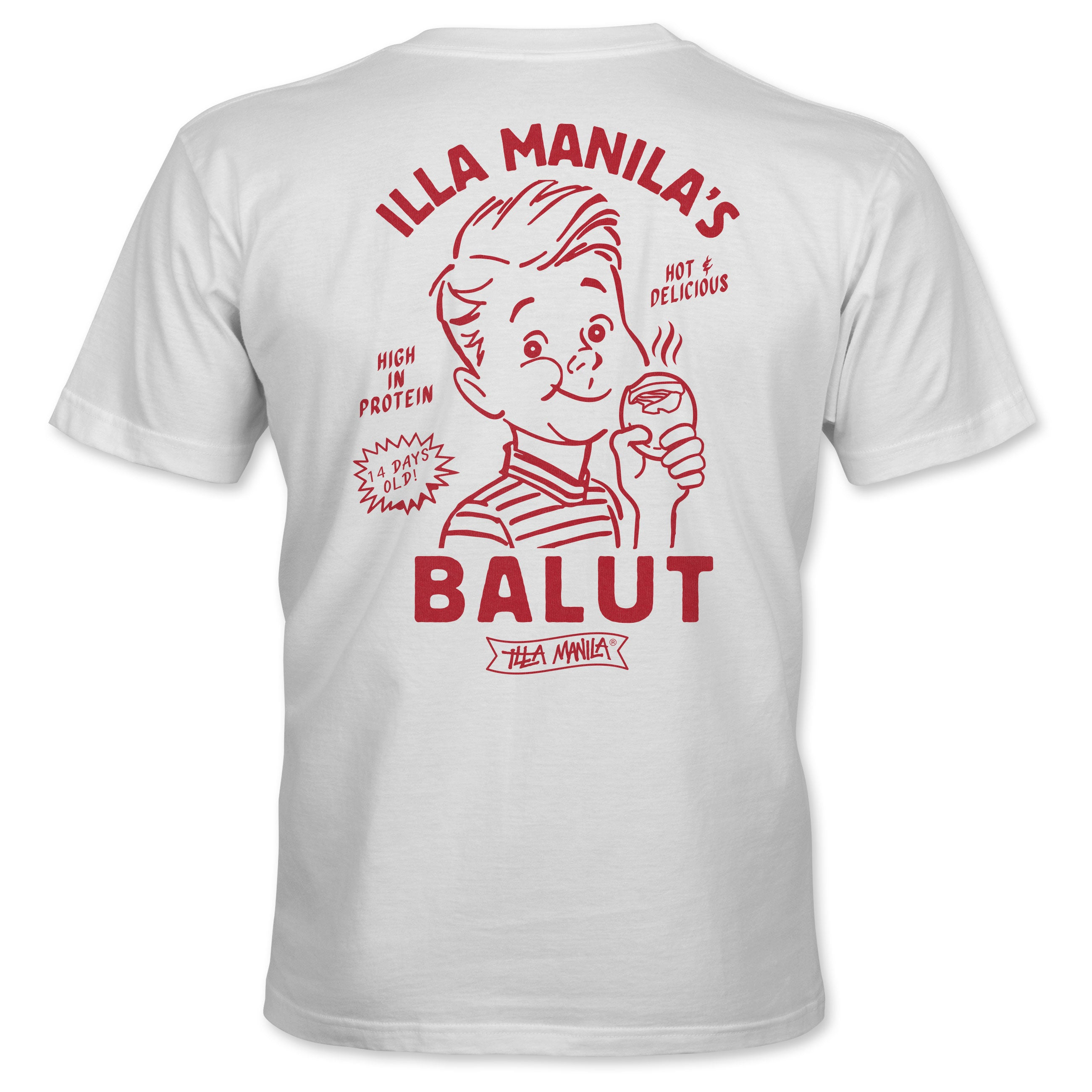Balut T-shirt - White