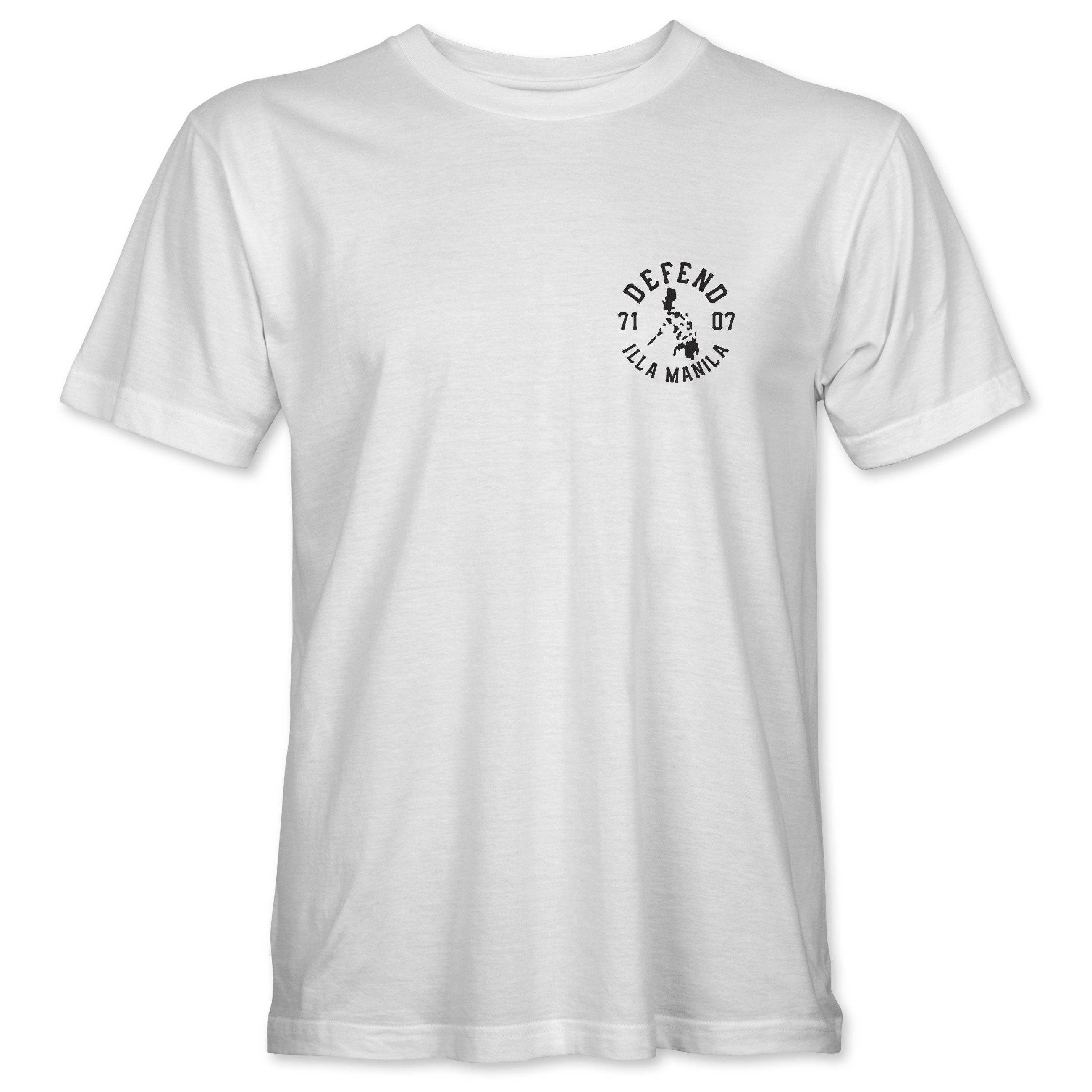 Defend the 7107 Islands T-shirt - White