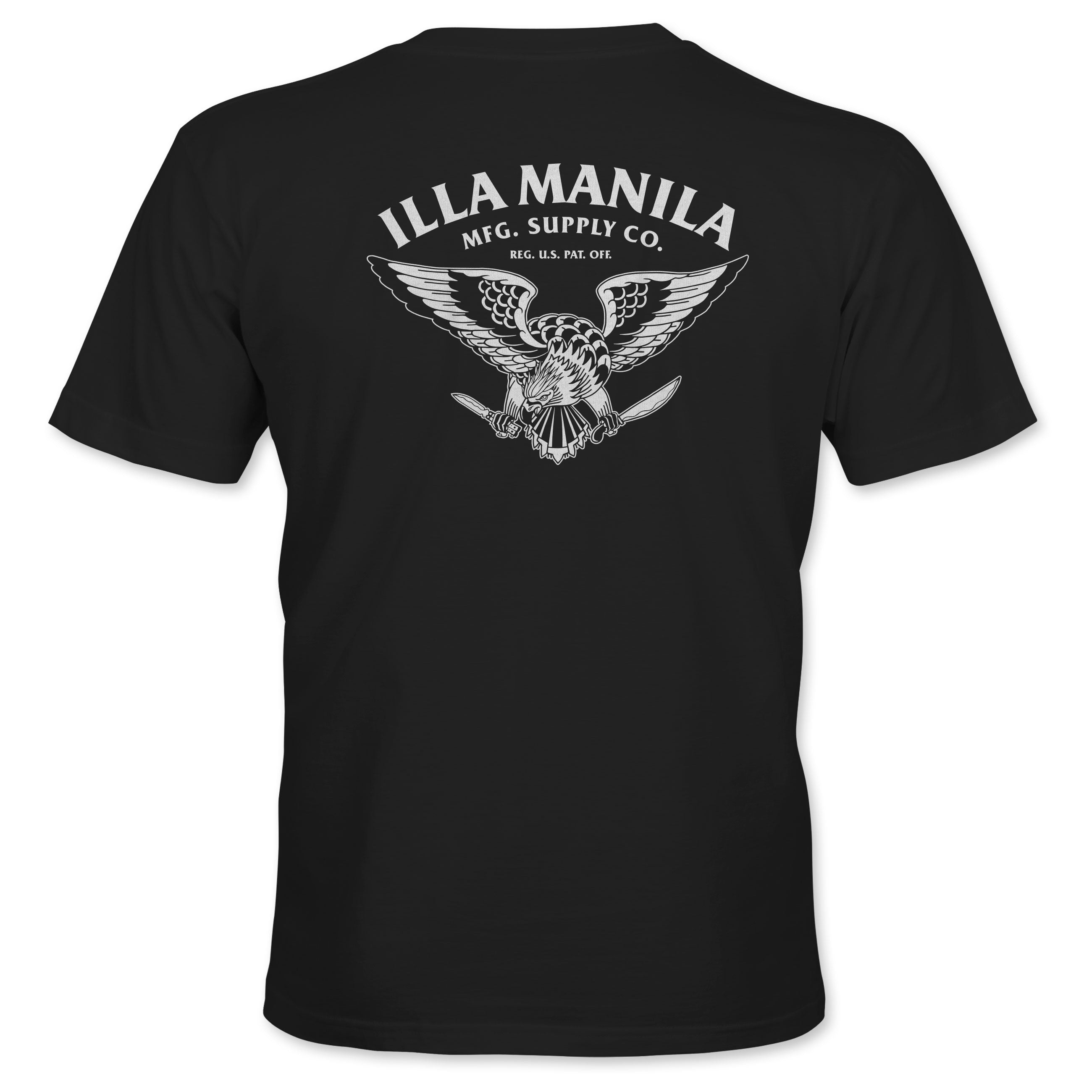 Philippine Eagle T-shirt - Black