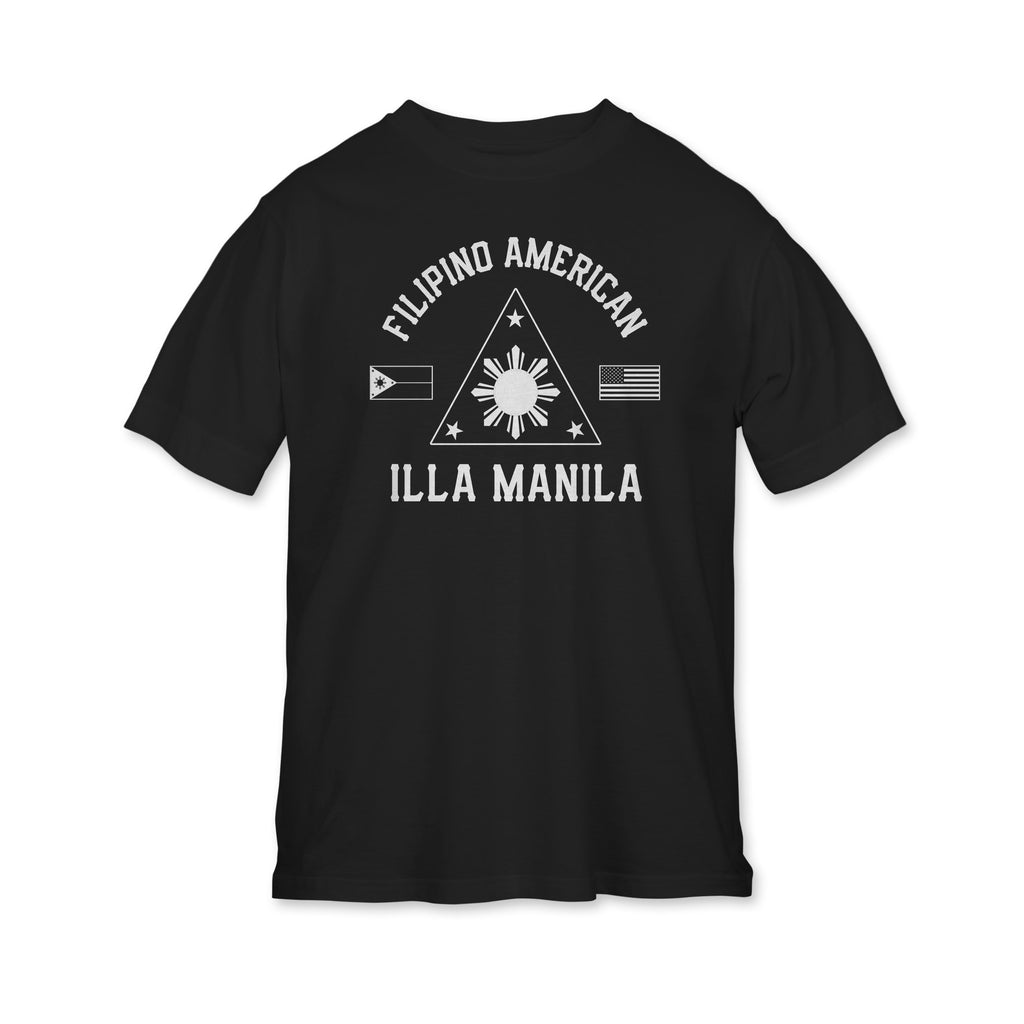 Fil-Am Triangle T-shirt - Youth - Black