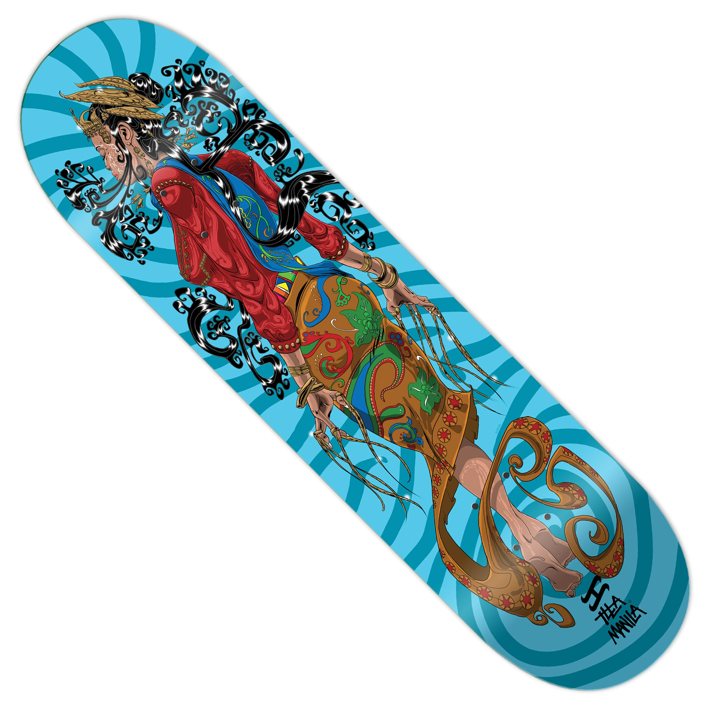 Princess Purmassuri Skateboard deck 8.25""