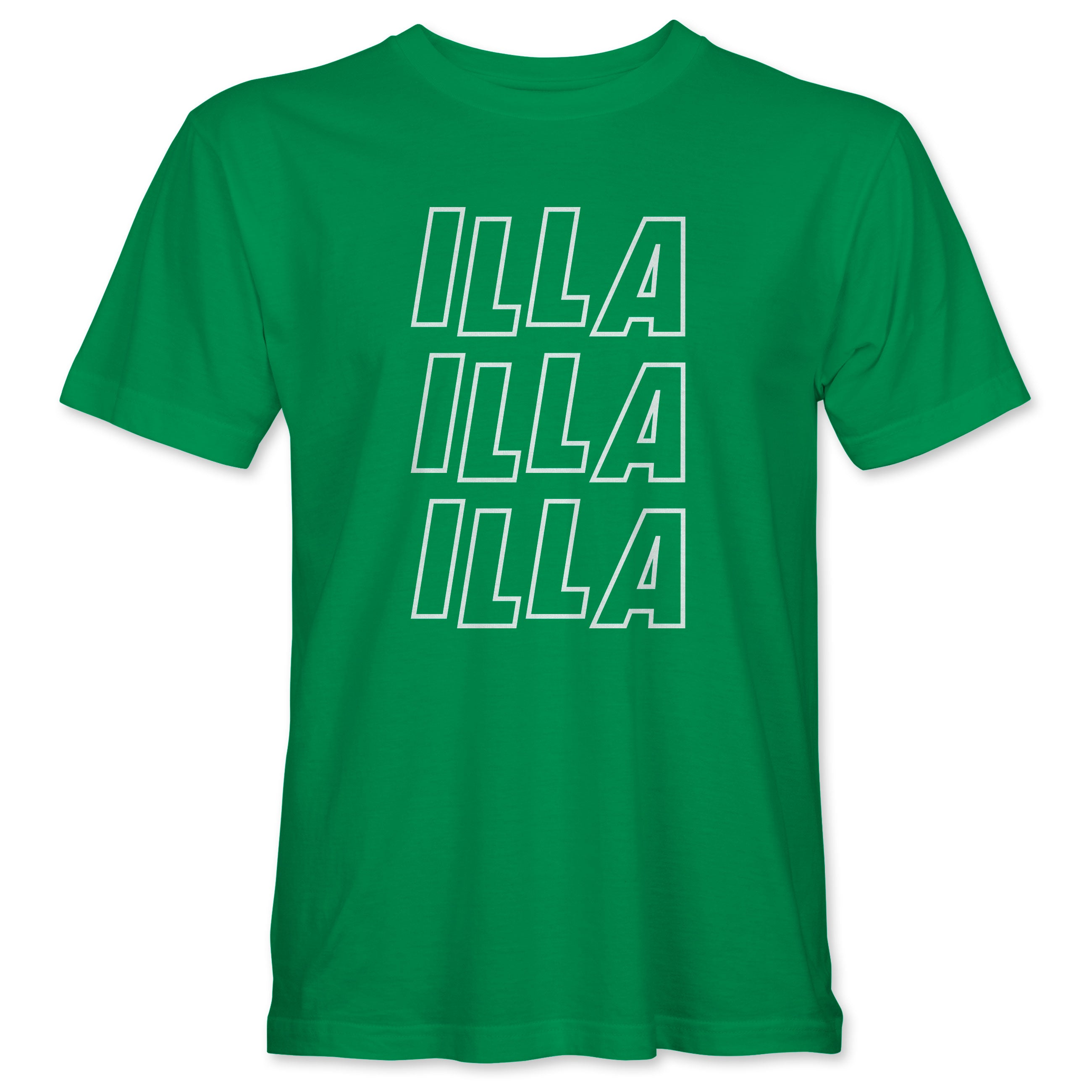 ILLA ILLA ILLA T-shirt - Kelly Green