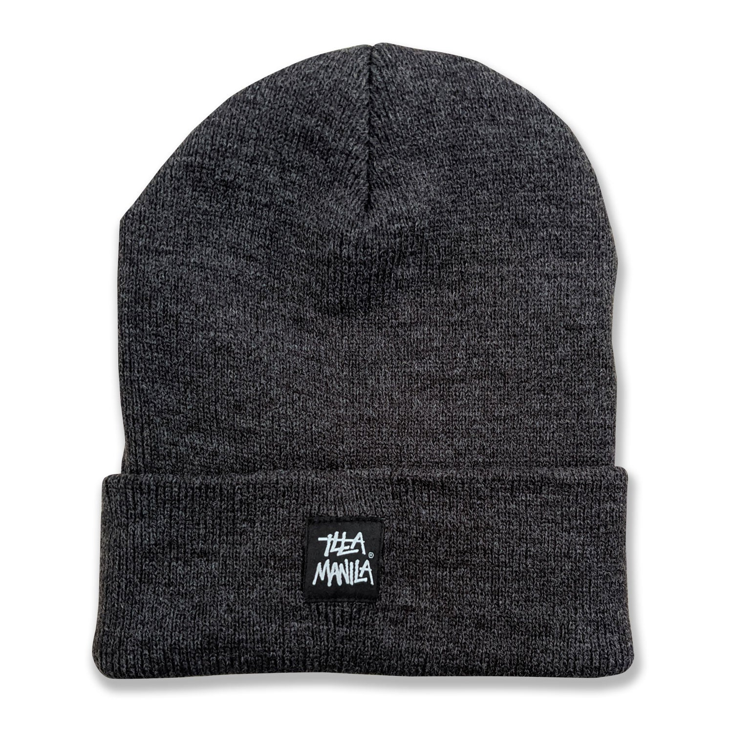 ILLA Logo Knit Beanie - Dark Grey