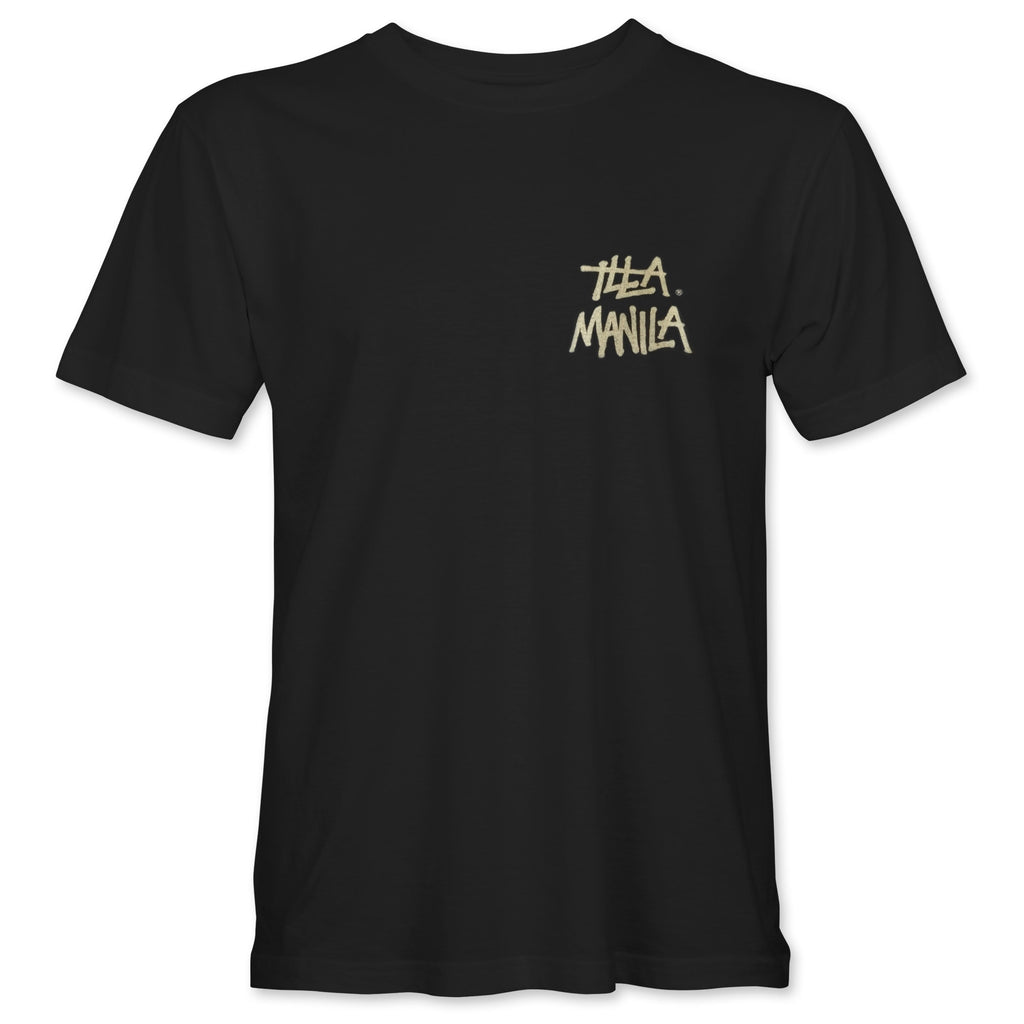 Gold Logo T-shirt - Black