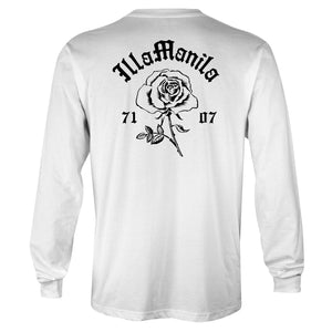 Rosey Long Sleeve T-shirt - White