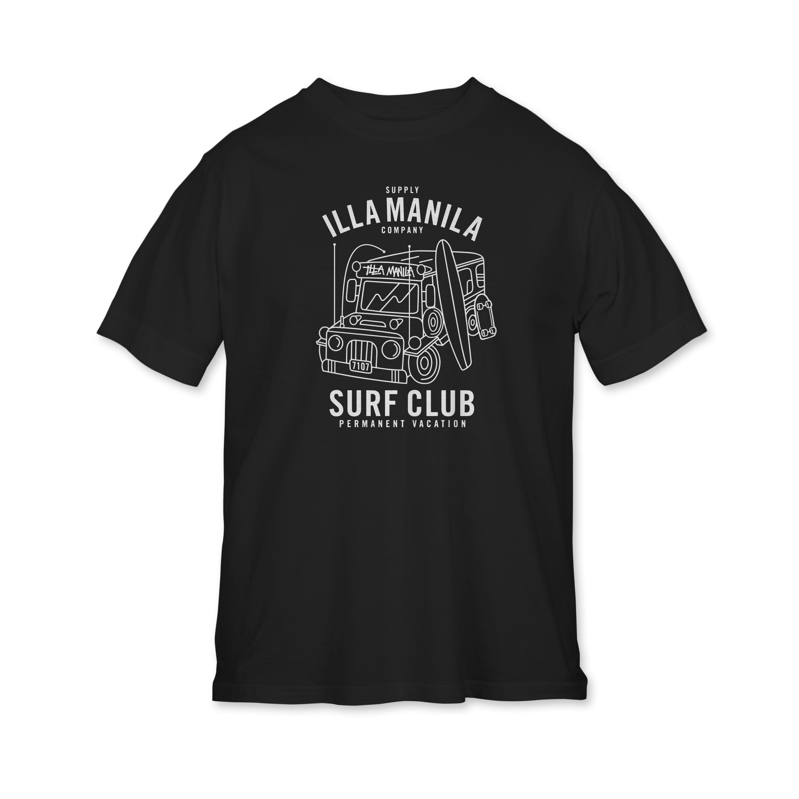 Surf Club T-shirt - Youth - Black