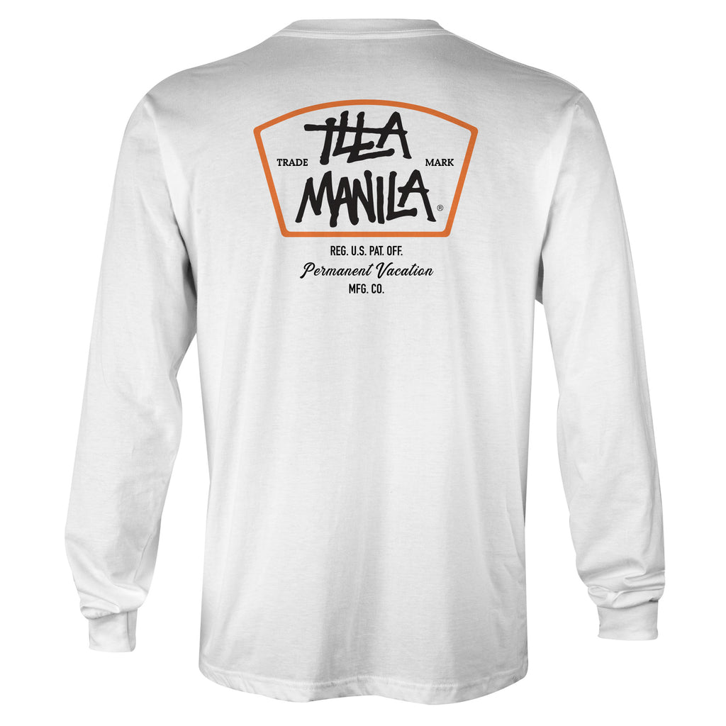 Trade Mark Long Sleeve T-shirt - White