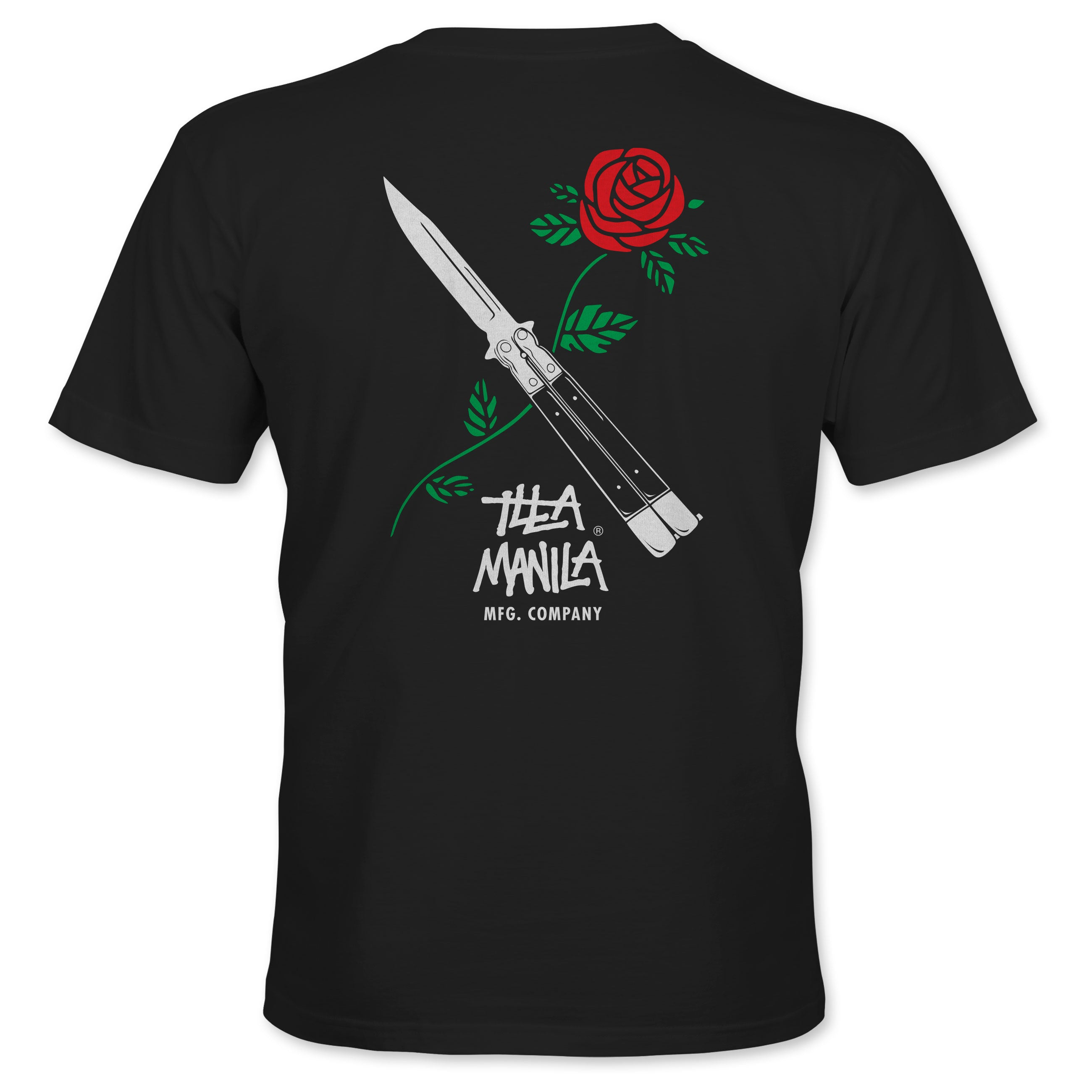 Balisong Rose T-shirt - Black