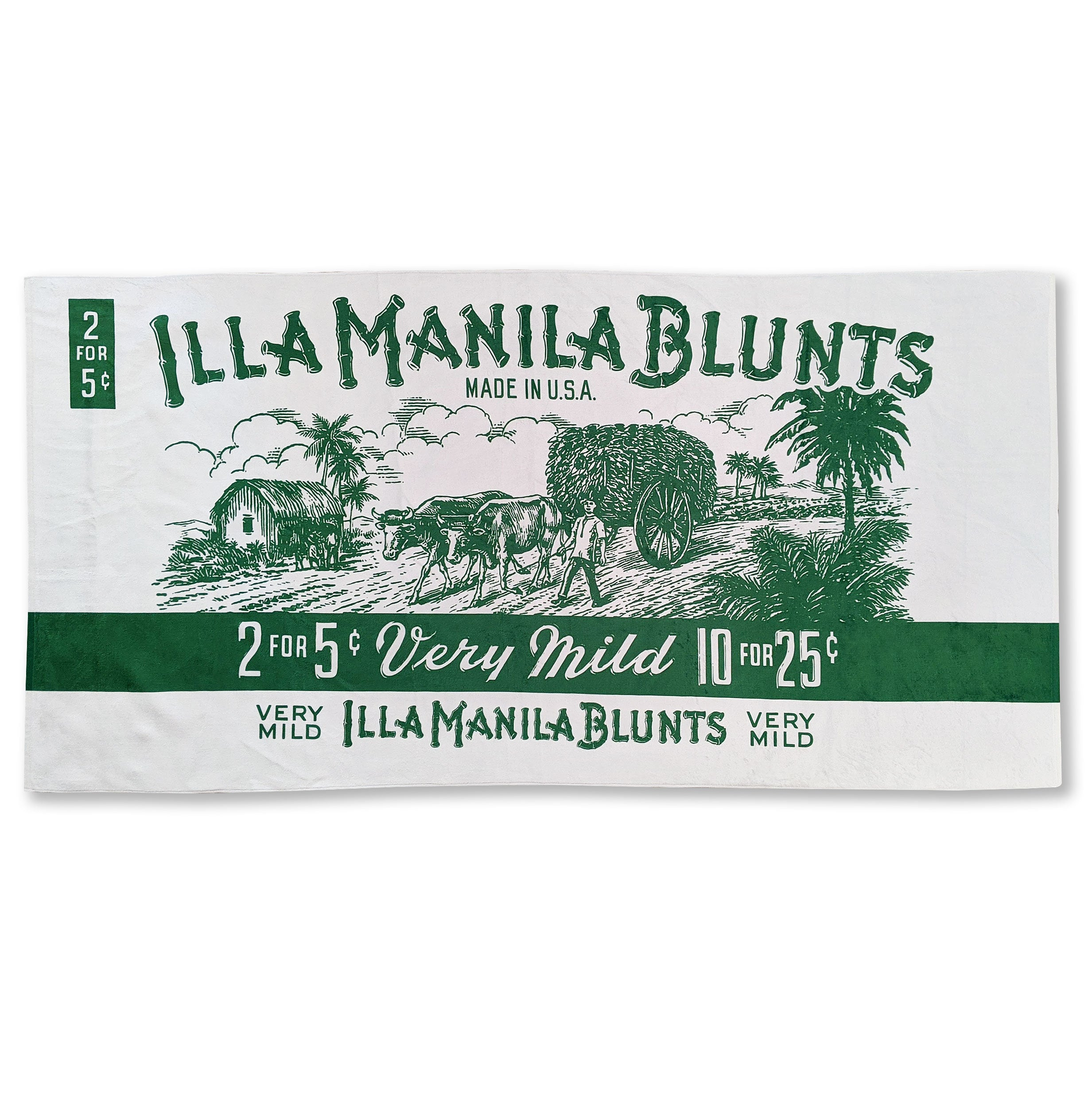 ILLA Blunts Beach Towel
