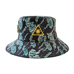 Triangle Sun Bucket Hat - Philippine Island Tiger Camo