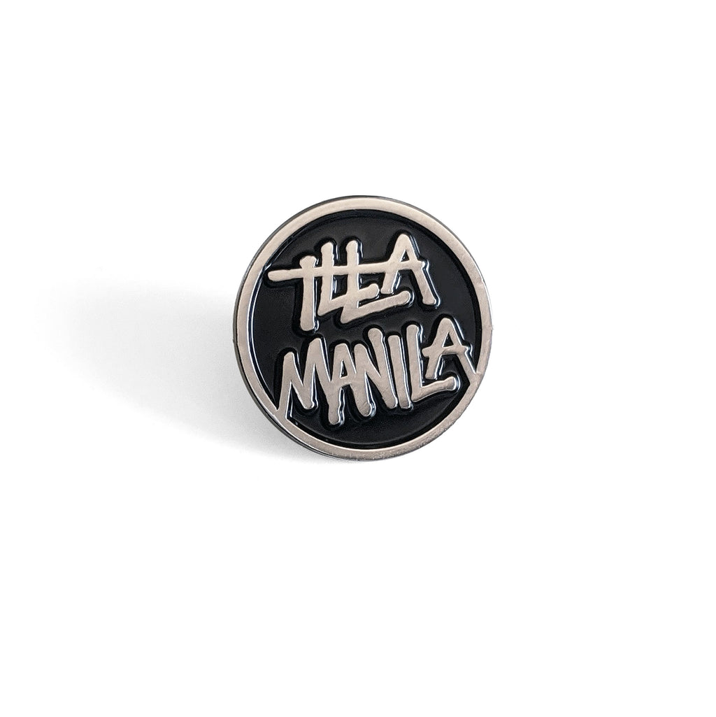 Circle Logo Enamel Pin