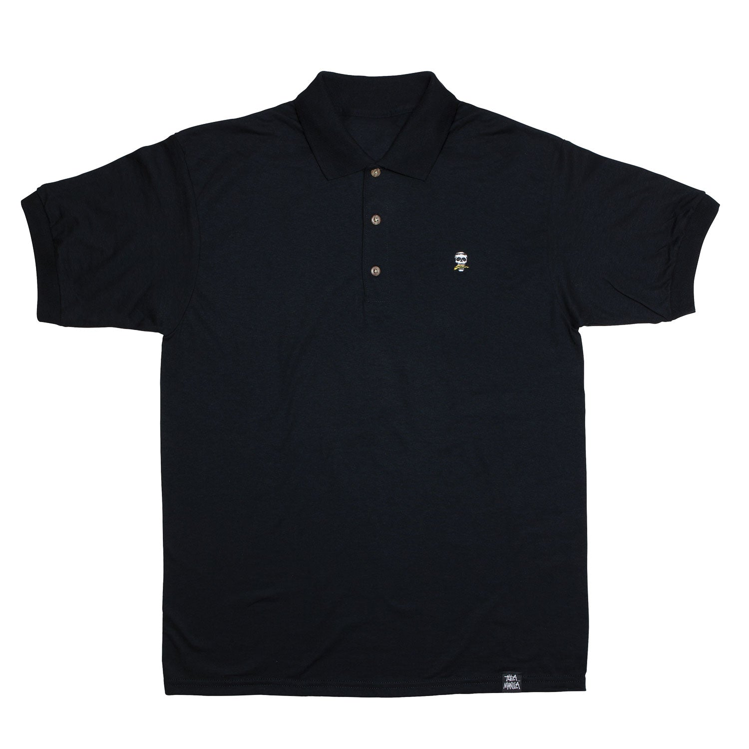 Dead Banana Polo Shirt - Black