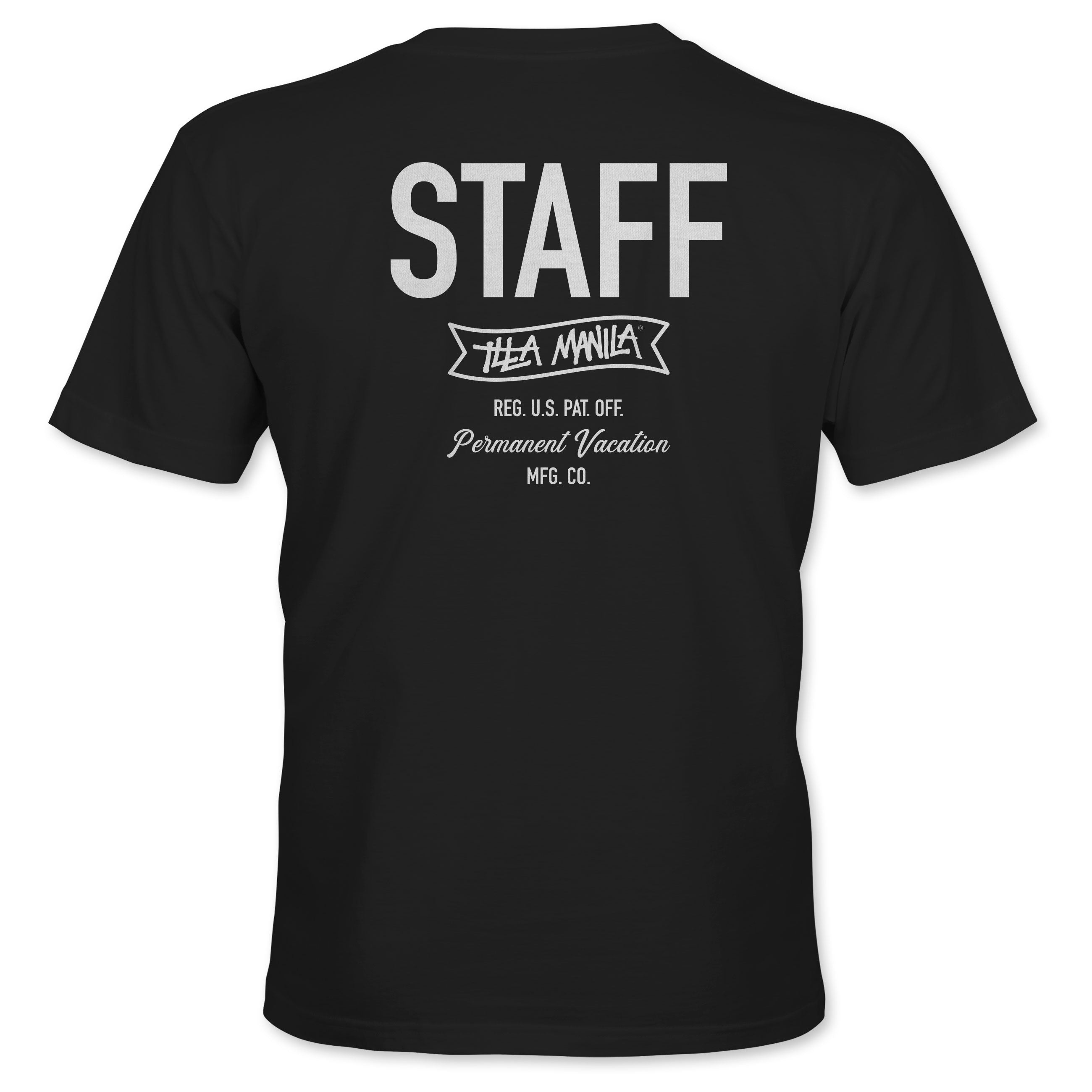 ILLA STAFF T-shirt - Black