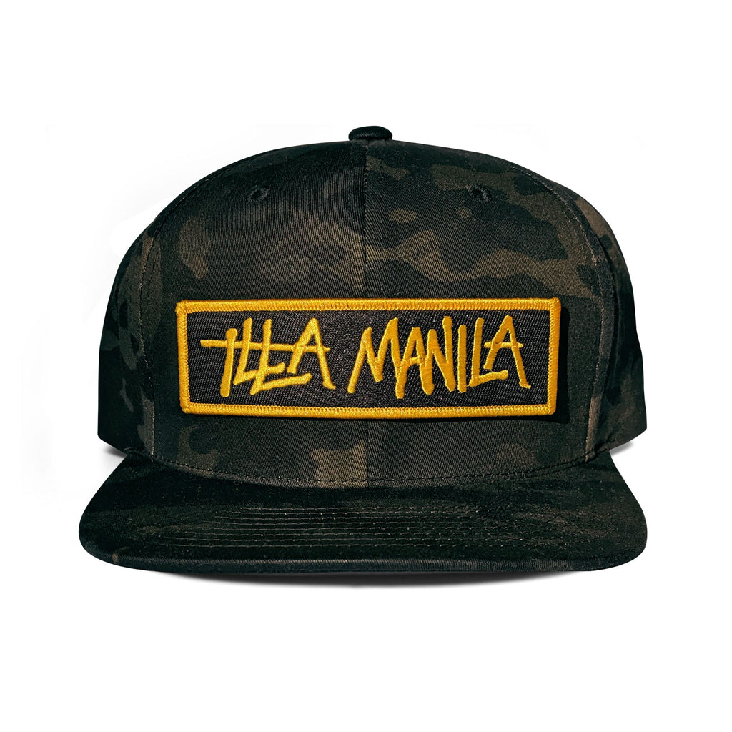 ILLA Standard Issue Snapback - Black Multicam®