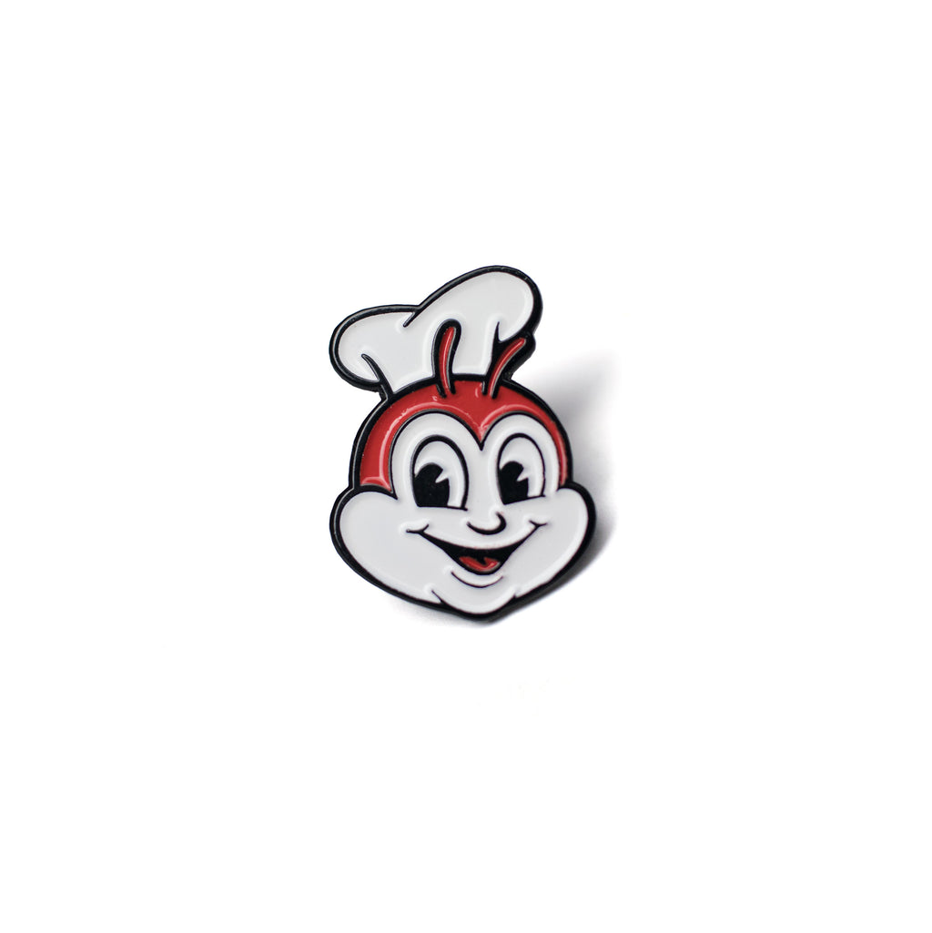 illa manila enamel pin jollibee filipino food