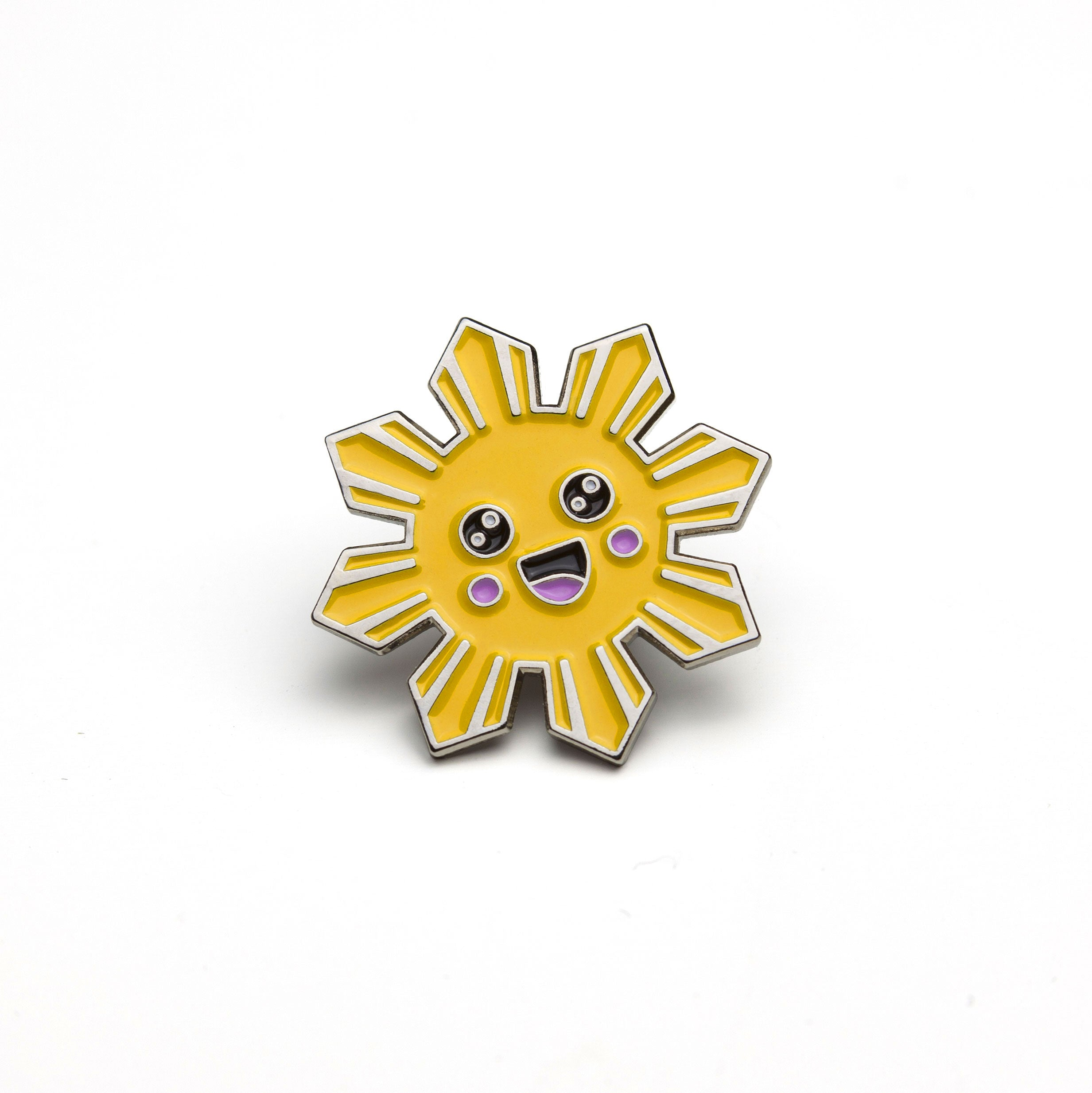 illa manila enamel pin philippine sun flag kawaii