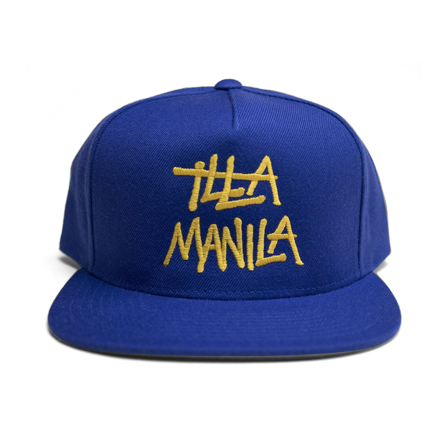 Large Logo Snapback - Royal