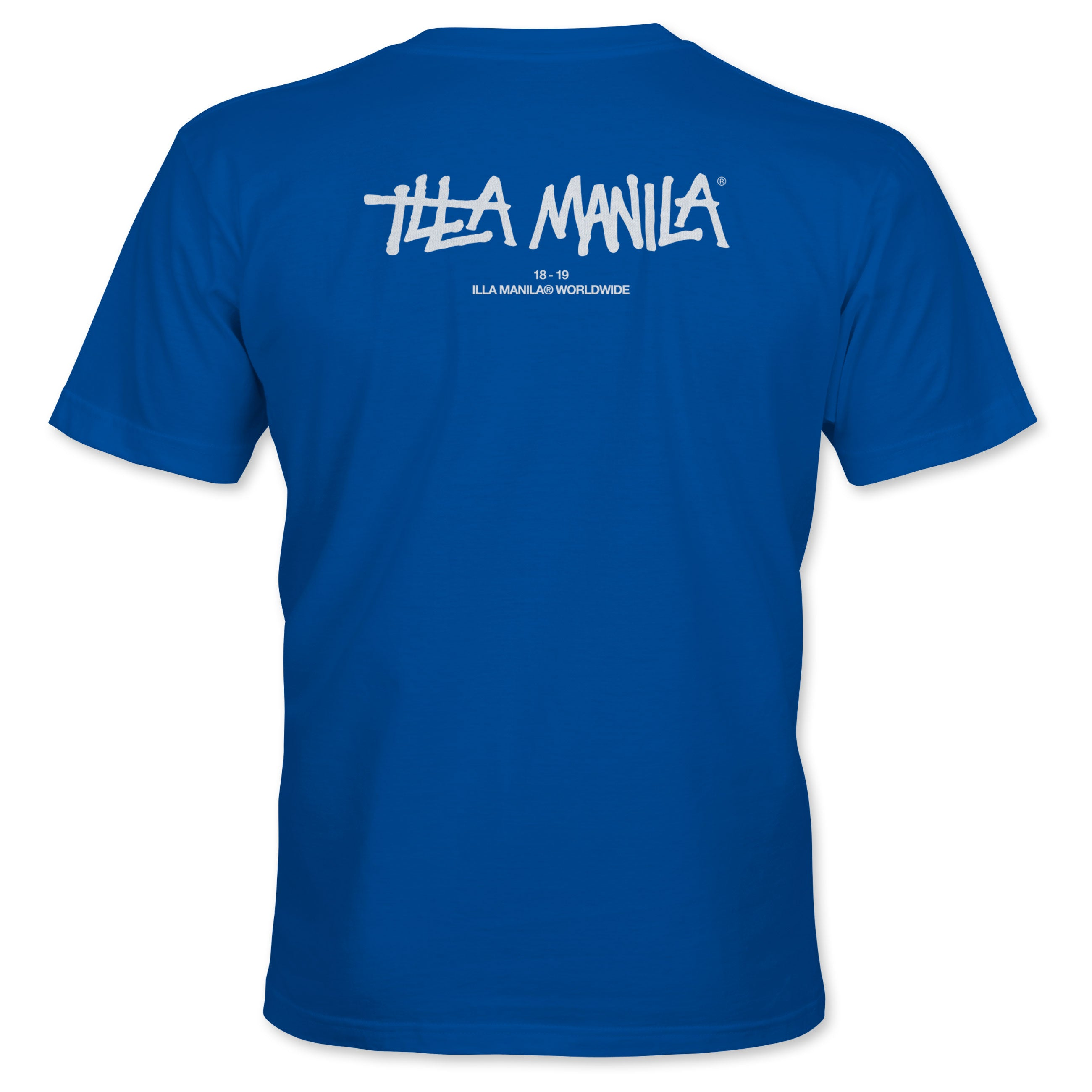ILLA Logo Worldwide T-shirt - Royal Blue