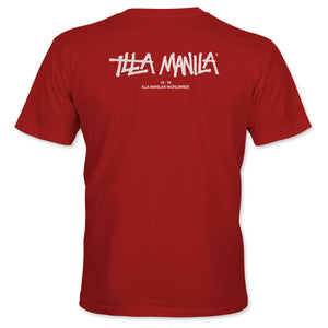 ILLA Logo Worldwide T-shirt - Red