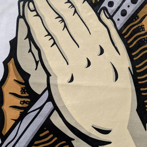 ILLA Praying Hands Balisong Beach Towel