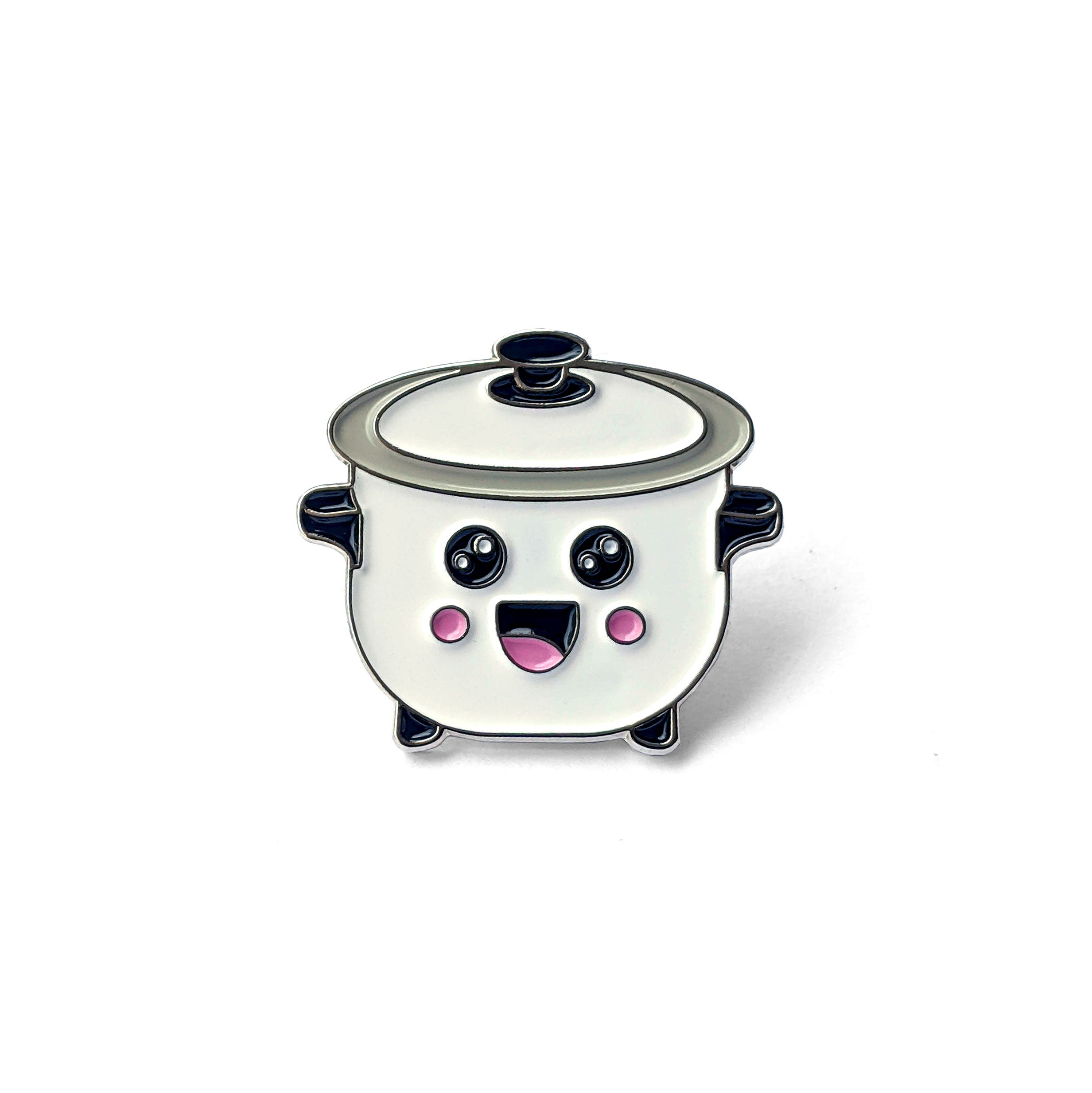 Kawaii Rice Cooker Enamel Pin