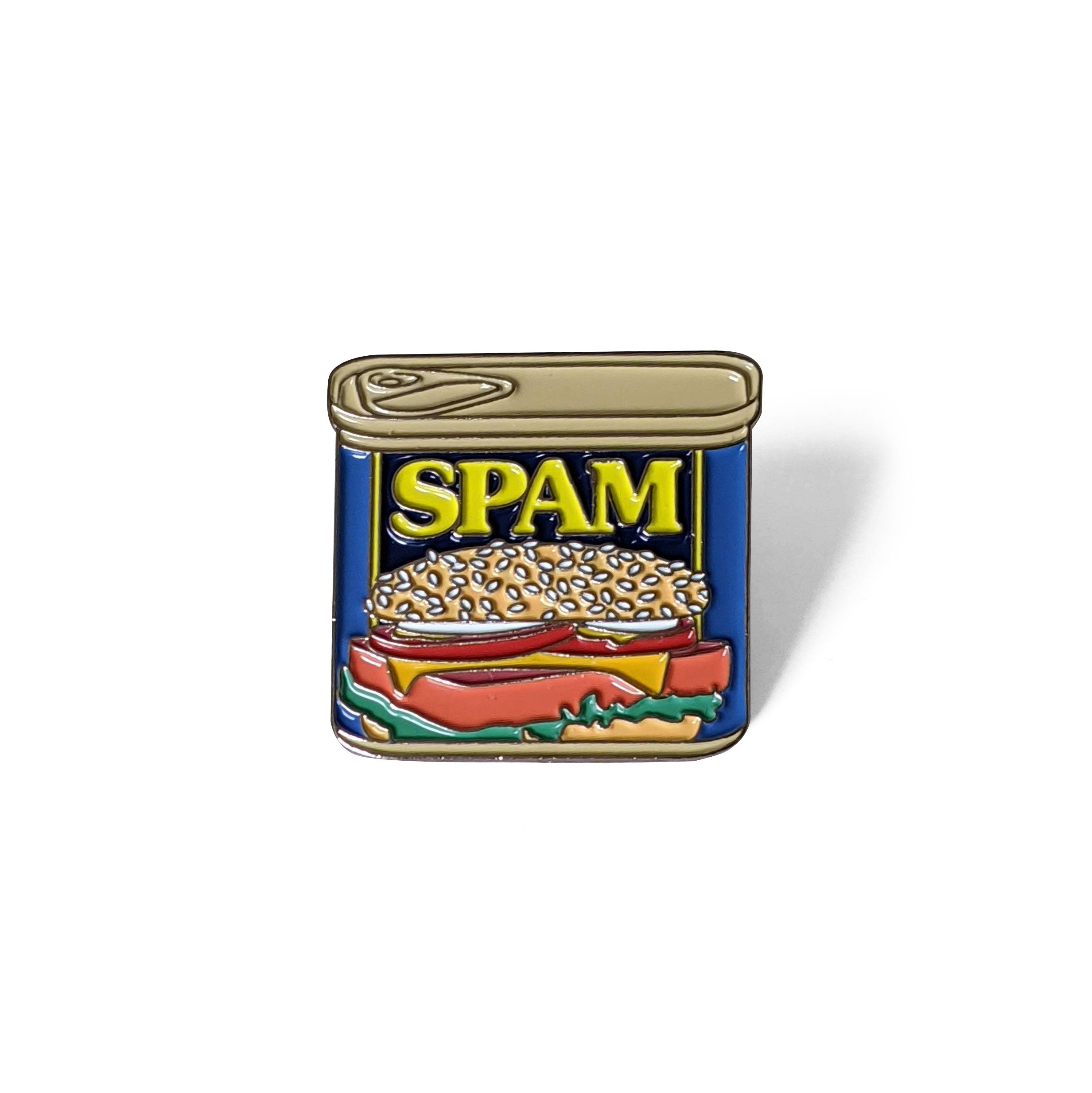 SPAM Can Enamel Pin