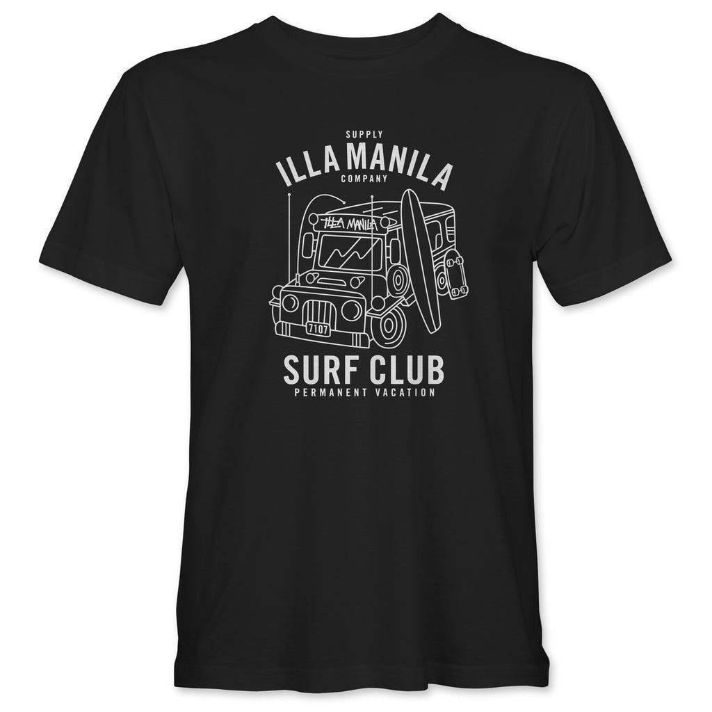 ILLA Surf Club T-shirt - Black