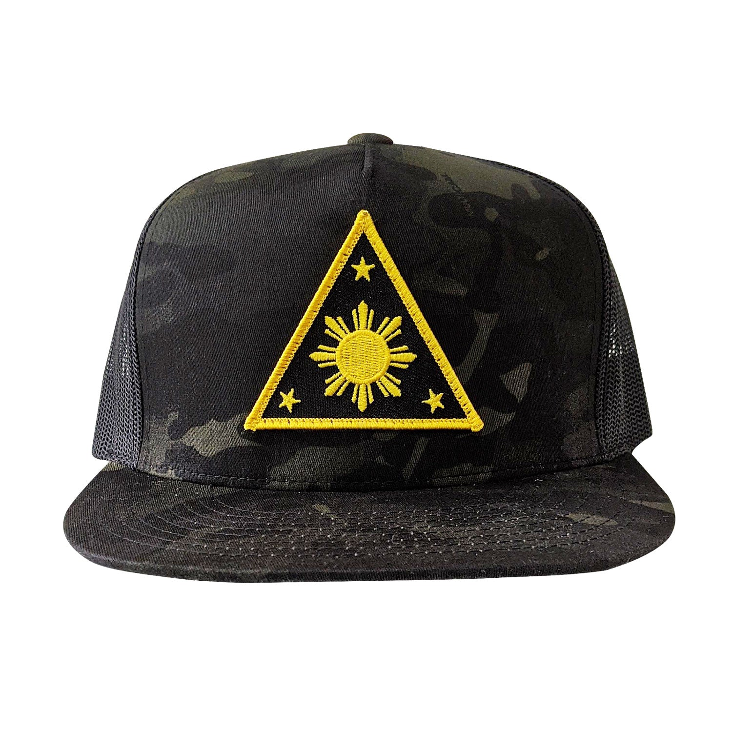 ILLA Triangle Sun Trucker Mesh - Black Multicam®