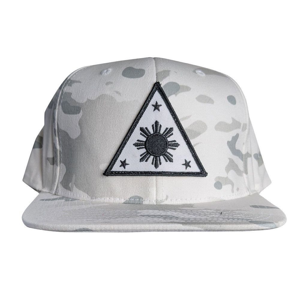 ILLA Triangle Sun White/Black Snapback - White Multicam®