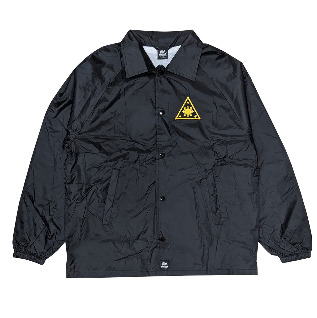 ILLA Triangle Sun Patch Coach Jacket - Black