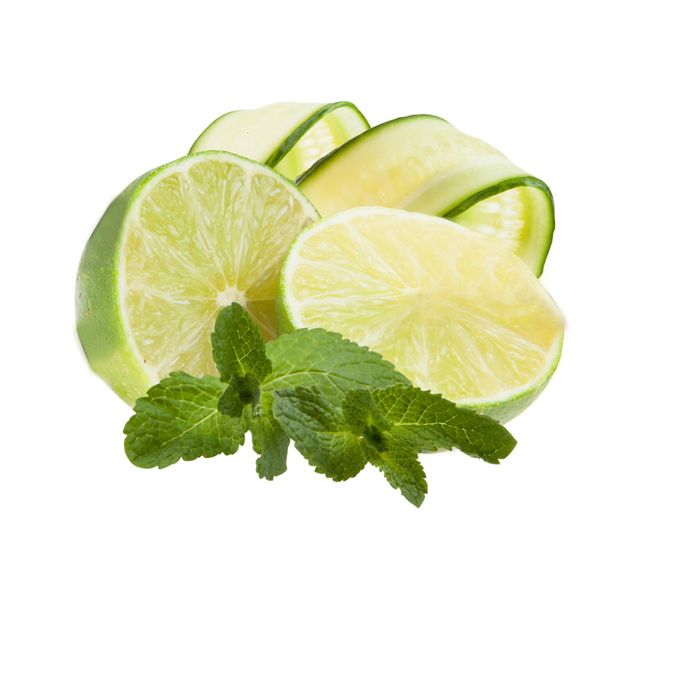 Cucumber Mint Lime - iced tea