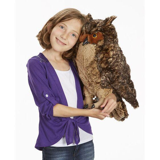 Plush Life Sized Owl