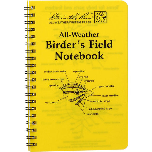 All-Weather Birder's Journal