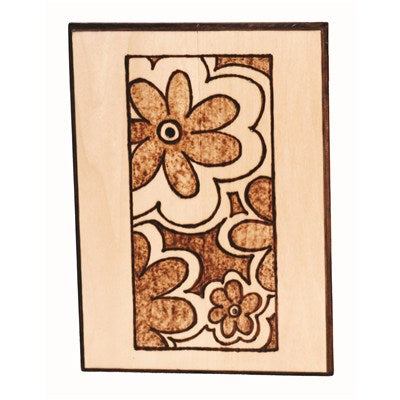 "Rect. Basswood Plaque - 7""x5"""