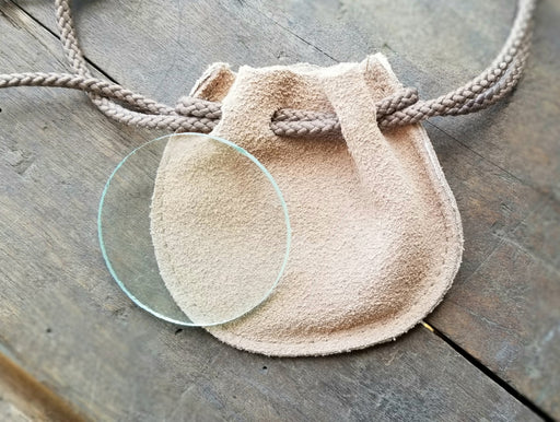 Magnifying Glass Lens w/Pouch