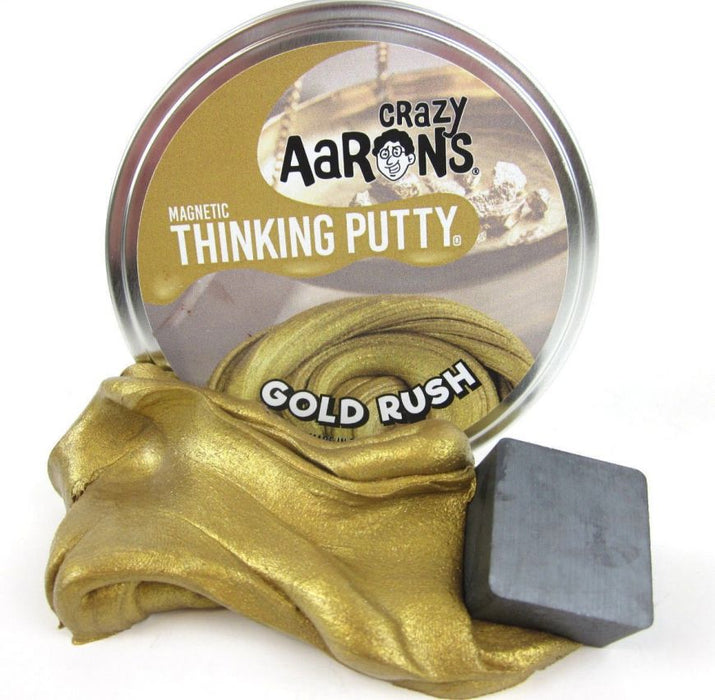 Gold Rush - Magnetic Thinking Putty