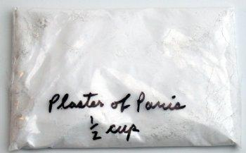 Plaster of Paris - 1/2 Cup