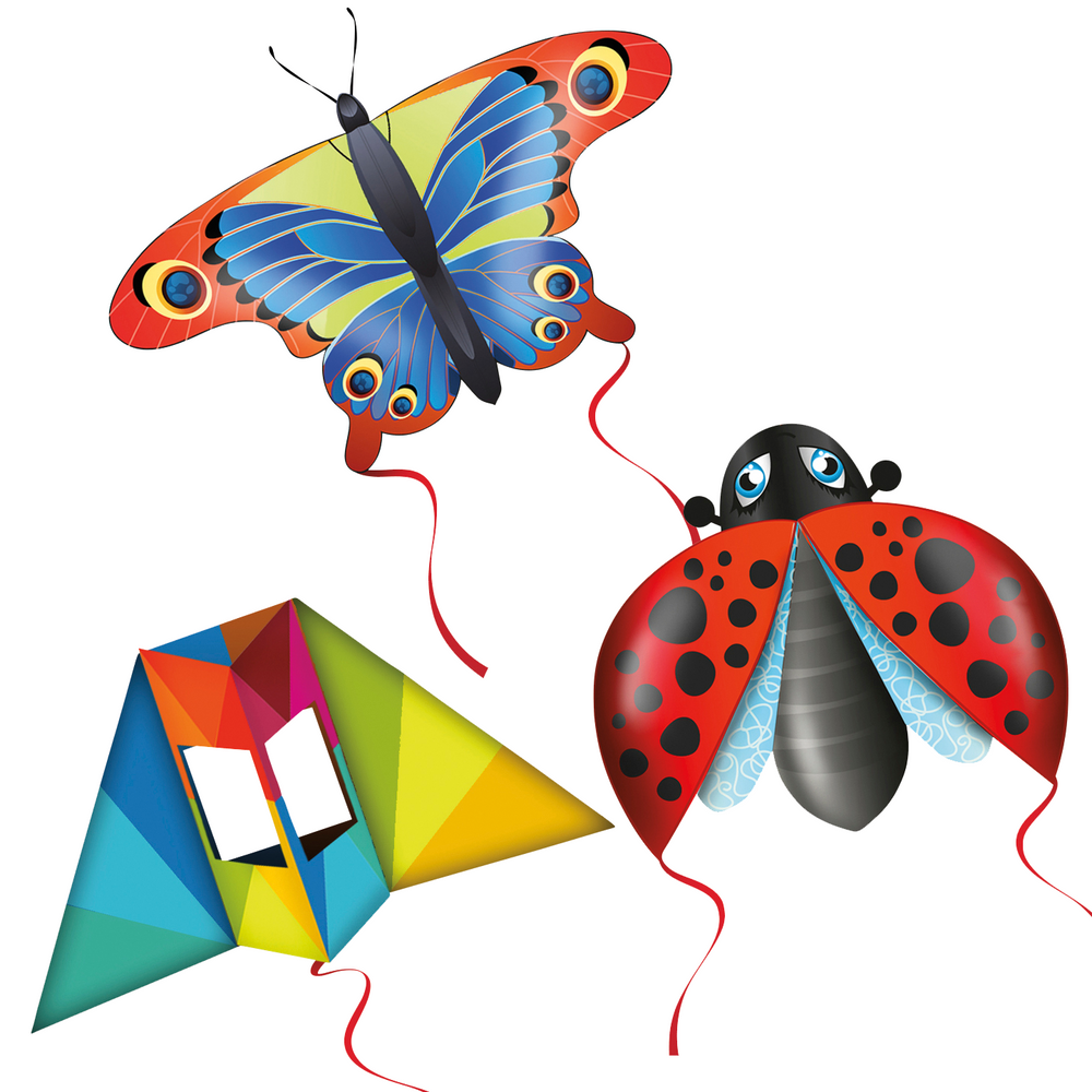 Pop-Up Mini Kites