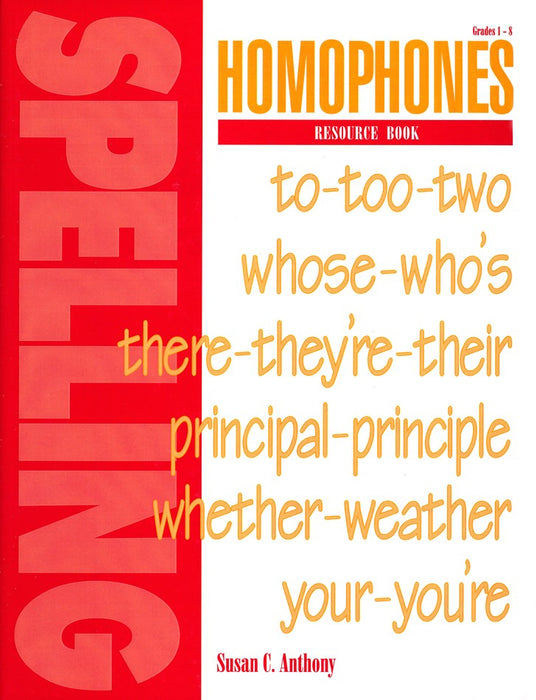 Homophones Resource Book