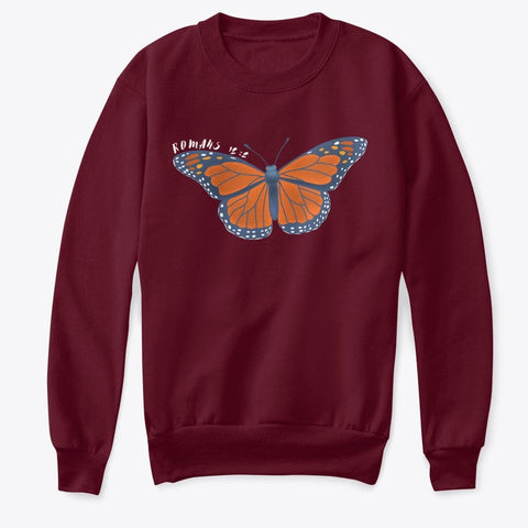 Romans 12:2 Butterfly Shirt