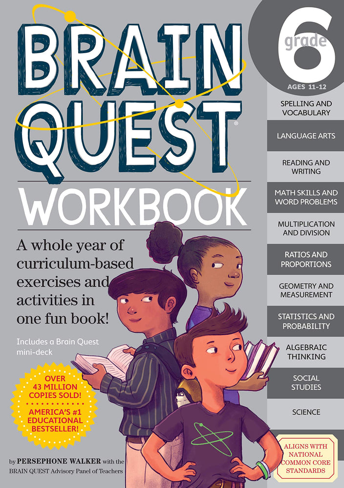 Brain Quest 6 Workbook