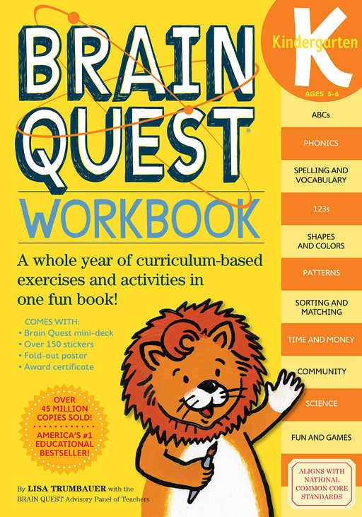 Brain Quest K Workbook
