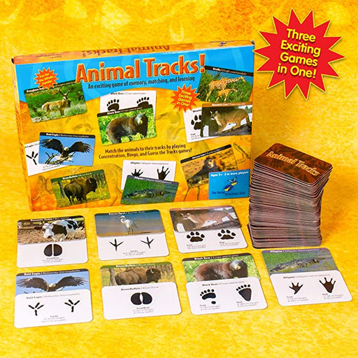 Animal Tracks Game