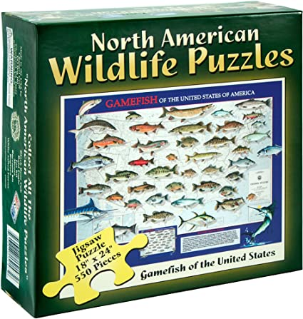 Gamefish of US N A Puzzle