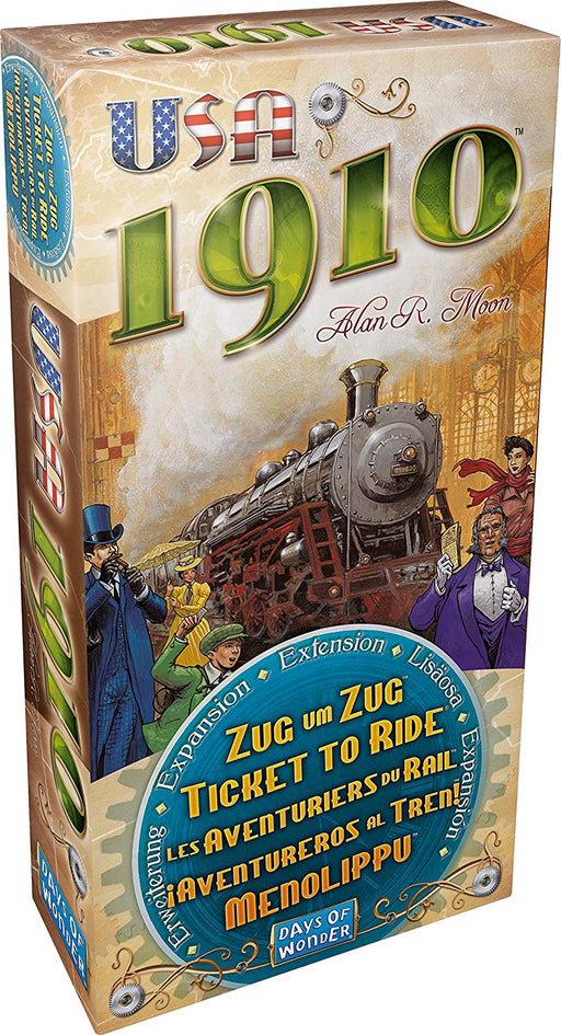 Ticket to Ride - USA 1910 Expa
