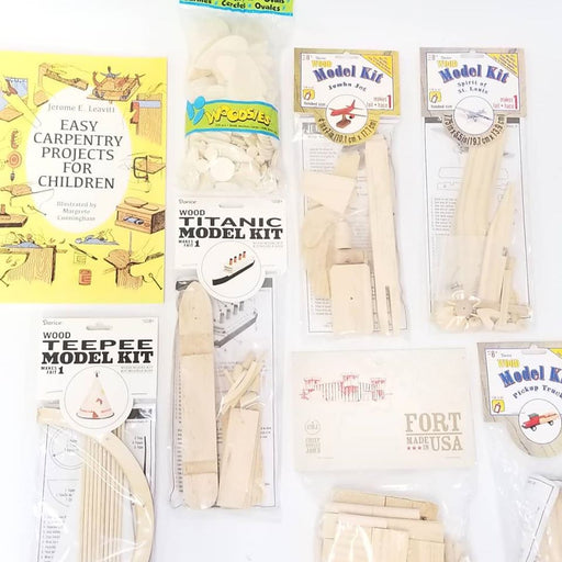 Wood Crafts Bundle!