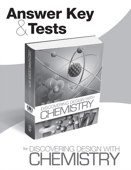Discovering Design with Chemistry - Answer key